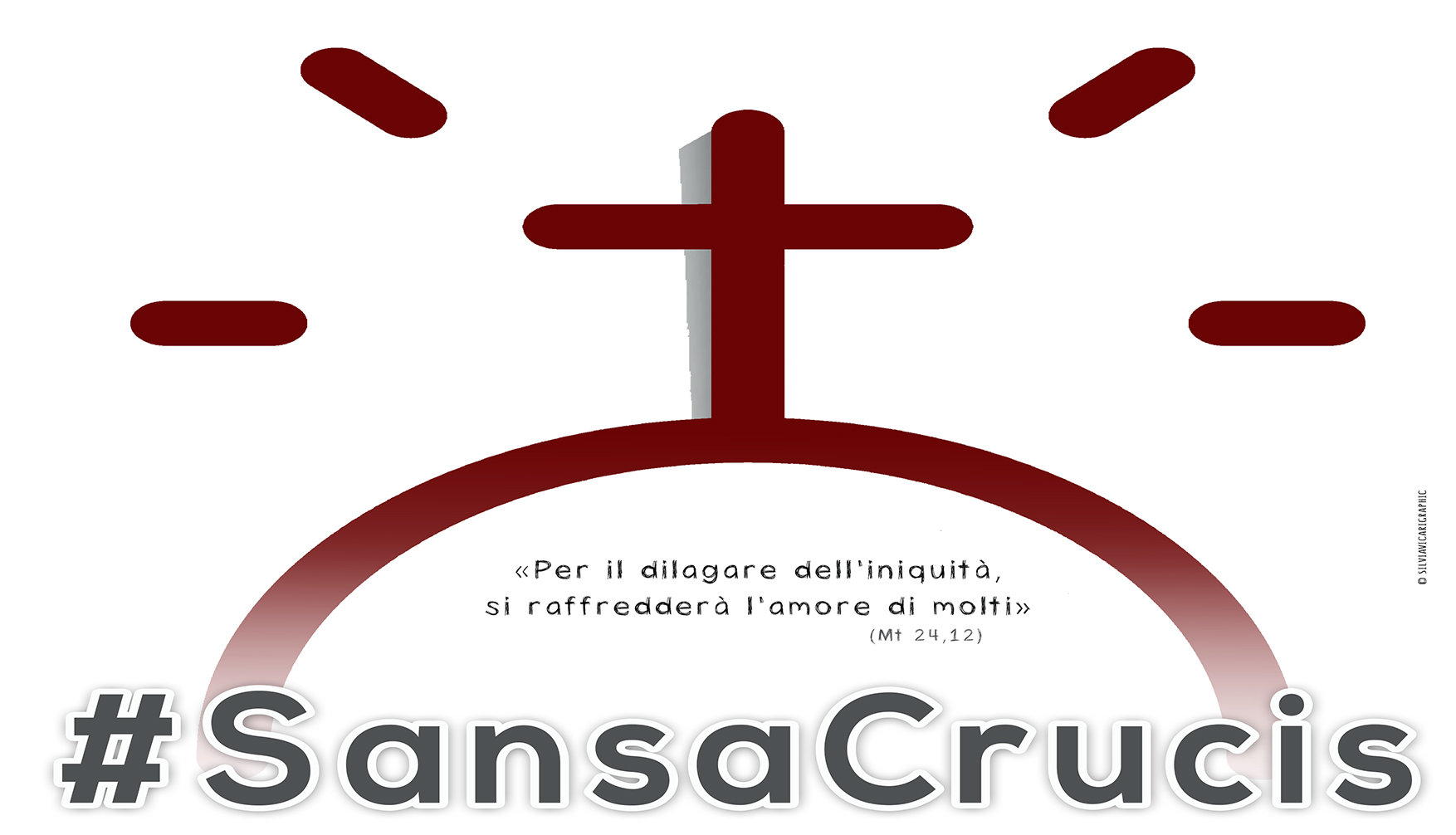 #sansacrucis la via Crucis degli universitari
