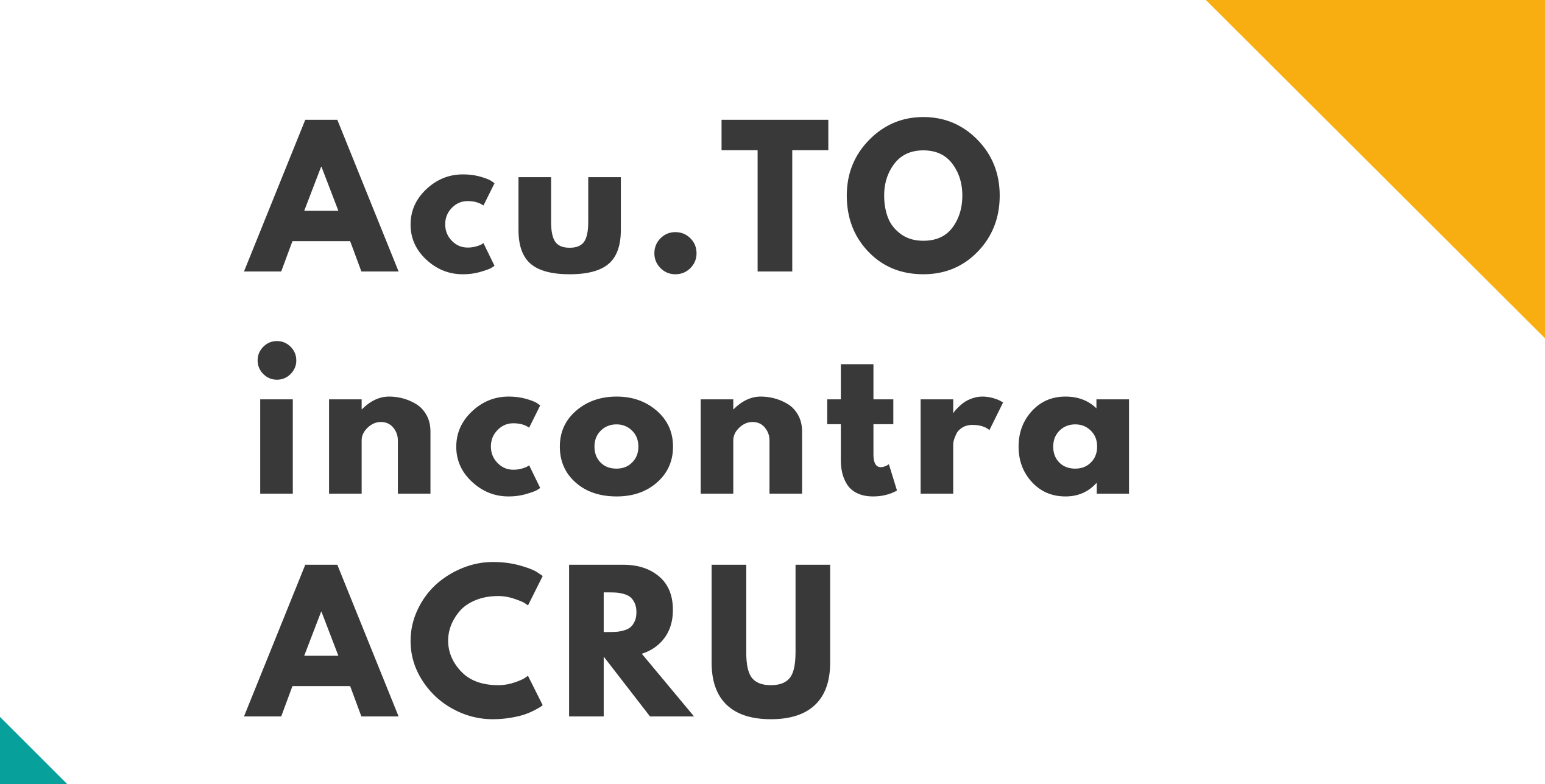 Acu.To incontra Acru