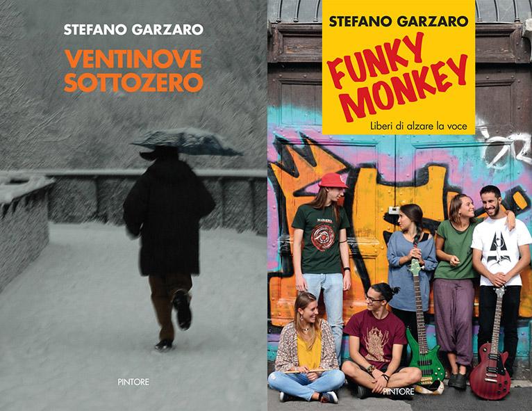 Le copertine dei libri di Stefano Garzaro