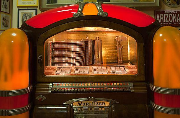 Il jukebox che suona poesie.