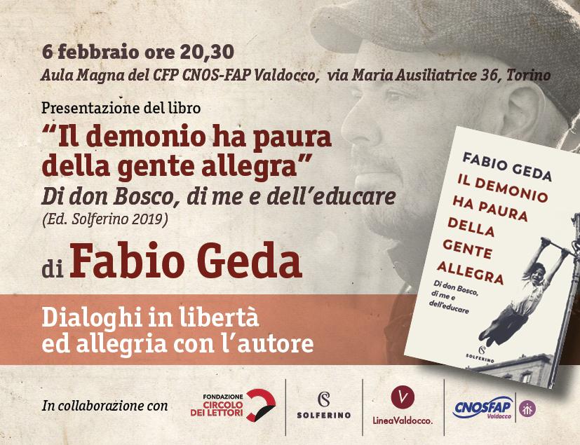 Presentazione libro Fabio Geda